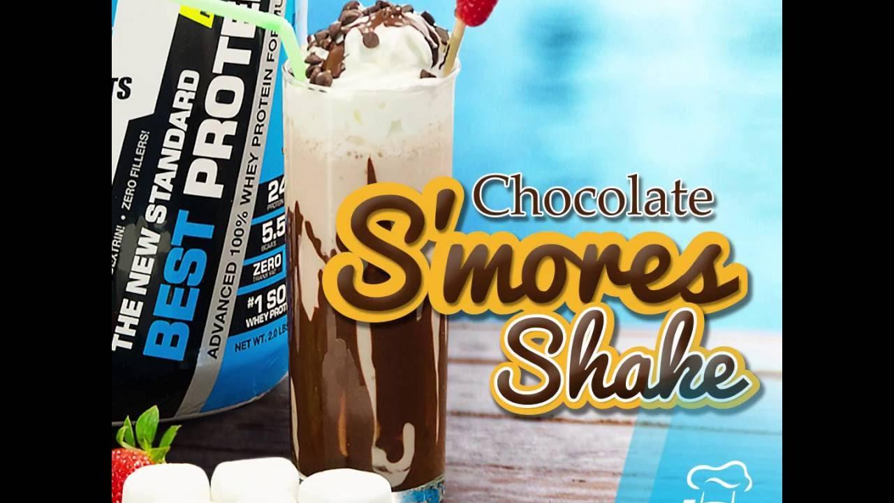 SMores-Protein-Shake-Healthy-Delicious-Recipe