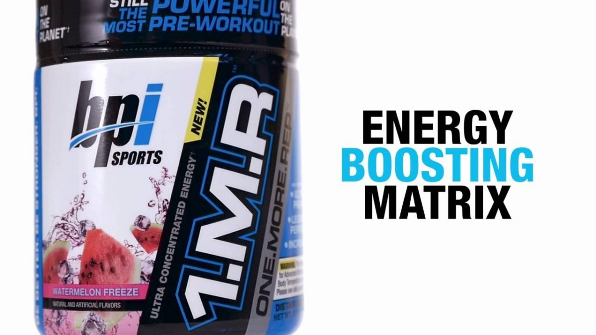1.M.R™: Ultra-Concentrated Pre-Workout Formula