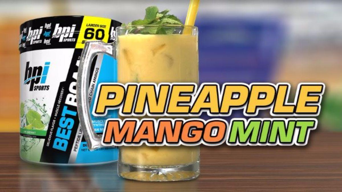 Pineapple Mango BCAAs Smoothie Recipe
