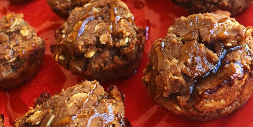 BPI Chocolate Pumpkin Protein muffins