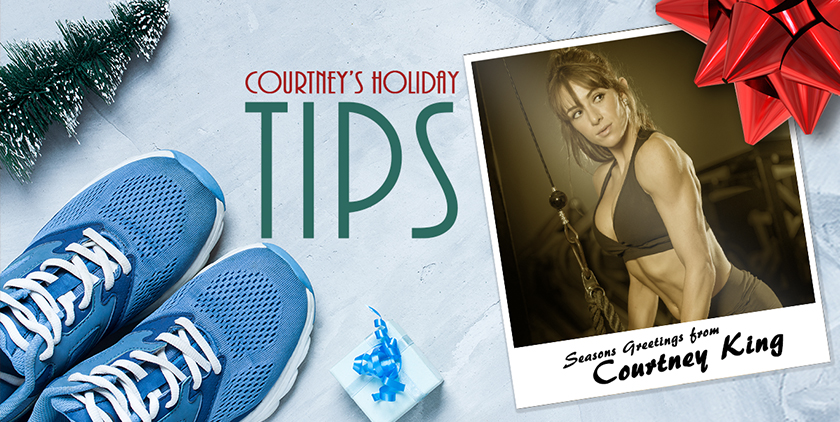 courtney king holiday tips
