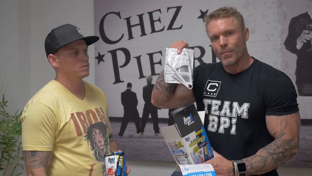 James Grage unboxes 6-Pack Shredded Kit