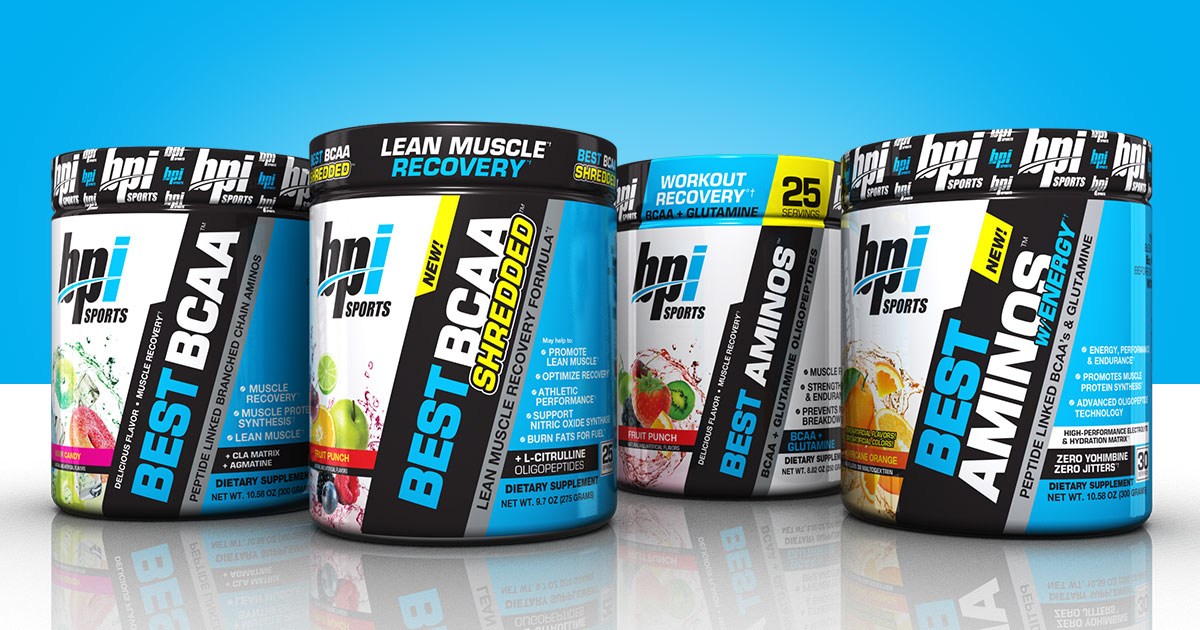 Meet Our Aminos - Four Products that Provide Amino Acids - BPI Sports Products - Sports ...