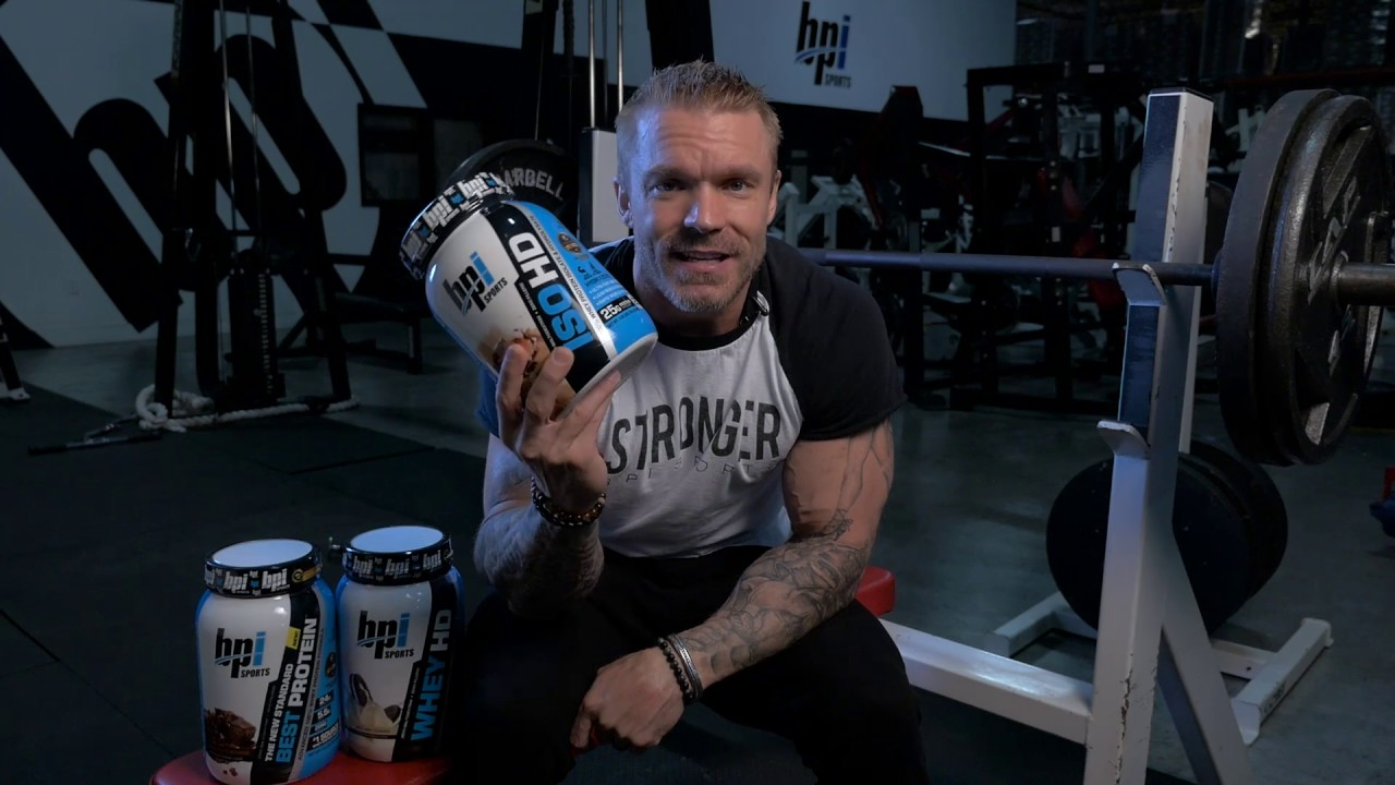 James Grage explains the difference between protein powders