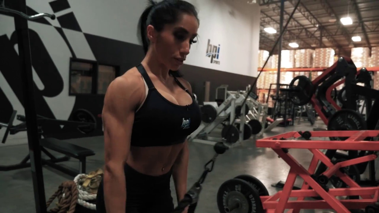 Back Workout Fueled by Best Creatine Defined – IFBB Pro, Narmin Assria