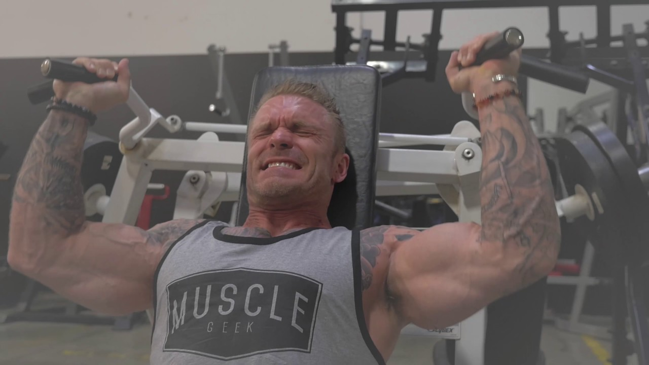 Big Chest Workout with James Grage & IFBB Pro Logan Franklin