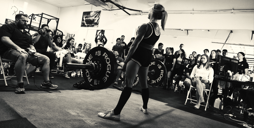 Lauren Bordelon powerlifting