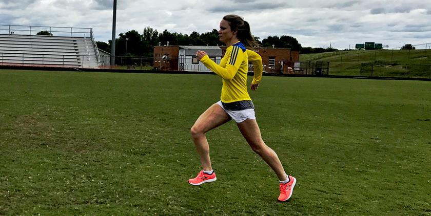 Sara running