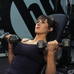 Incline Dumbbell (DB) Curls