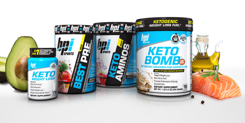 BPI keto products
