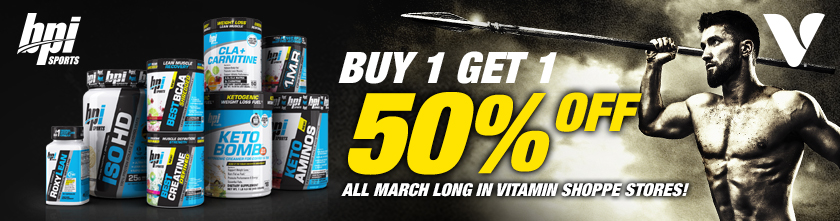 BOGO Vitamin Shoppe