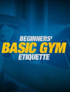 gym etiquette