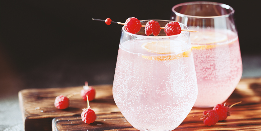 sparkling raspberry BCAA recipe