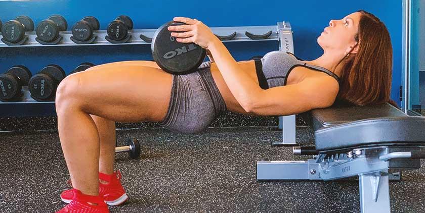 Haidy Cruz glute workout