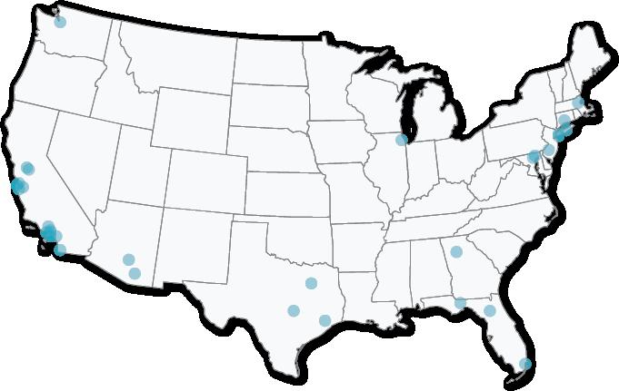 Blueprint LSAT Classroom Locations