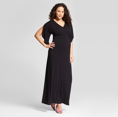 Maternity Knit Kimono Sleeve Dress - Isabel Maternity by Ingrid & Isabel™