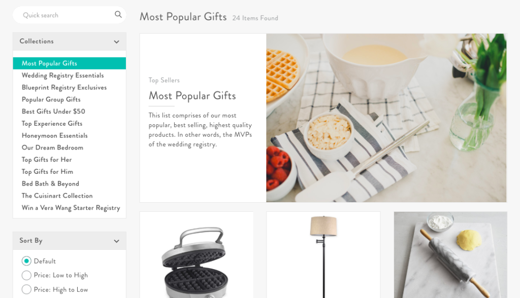 Best Wedding Registry Items.Tips For Strategically Tackling Your Gift Registry Blueprint Guides