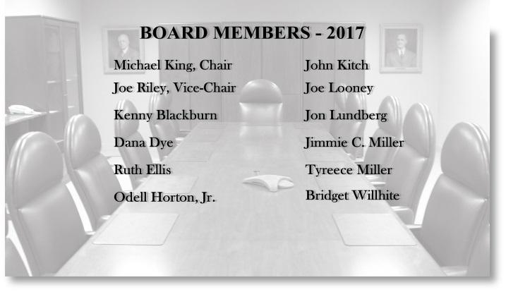 Board members for carousel