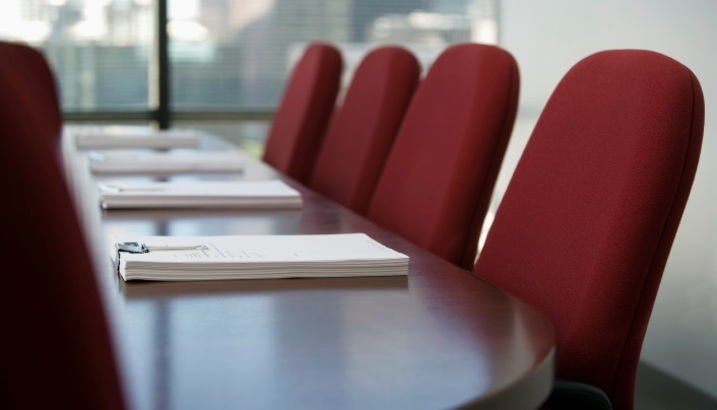 Hearing panel meeting room
