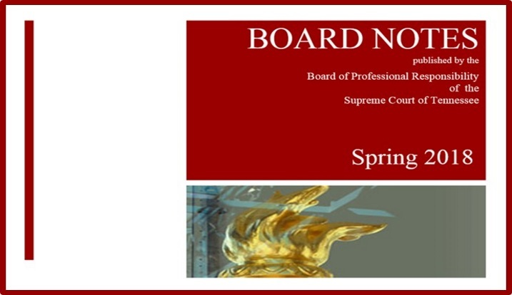 Board notes spring 2018