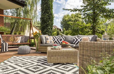 Winterize your patio furniture to keep it safe
