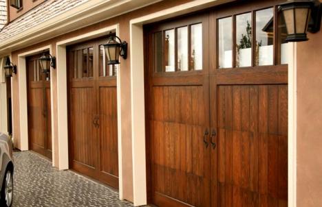 Updated garage doors