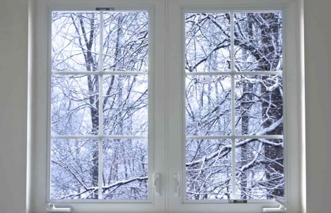 Windows help keep out the cold
