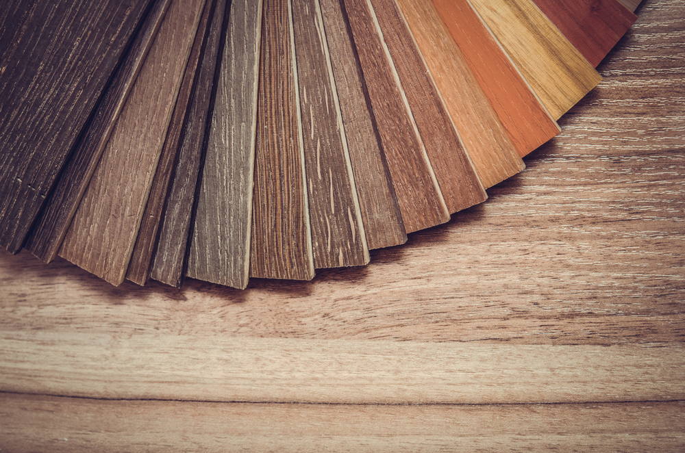 samples of hardwood flooring