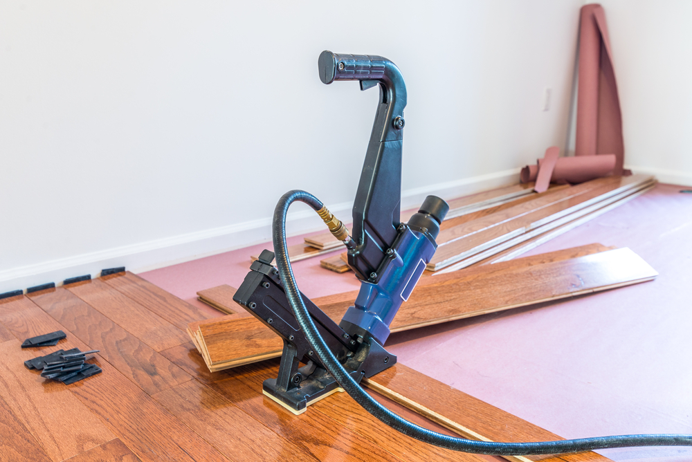 hardwood floor installation and installation tools
