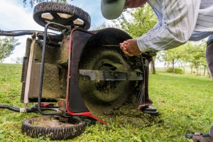Maintain your lawn mower so it is ready to perform in the spring