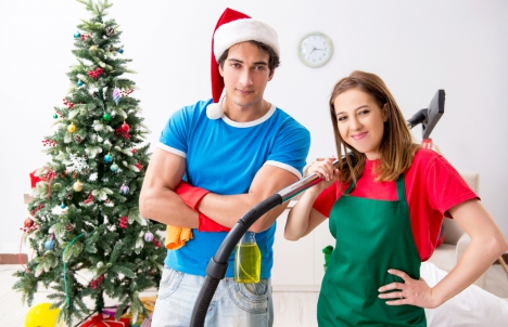 Post-Holiday Cleaning Professionals