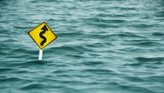 Quando tudo está indo por água abaixo