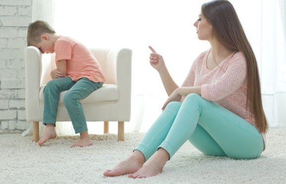 Colocando limites no comportamento dos filhos