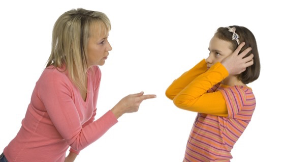 Pais: Não se discute com criança