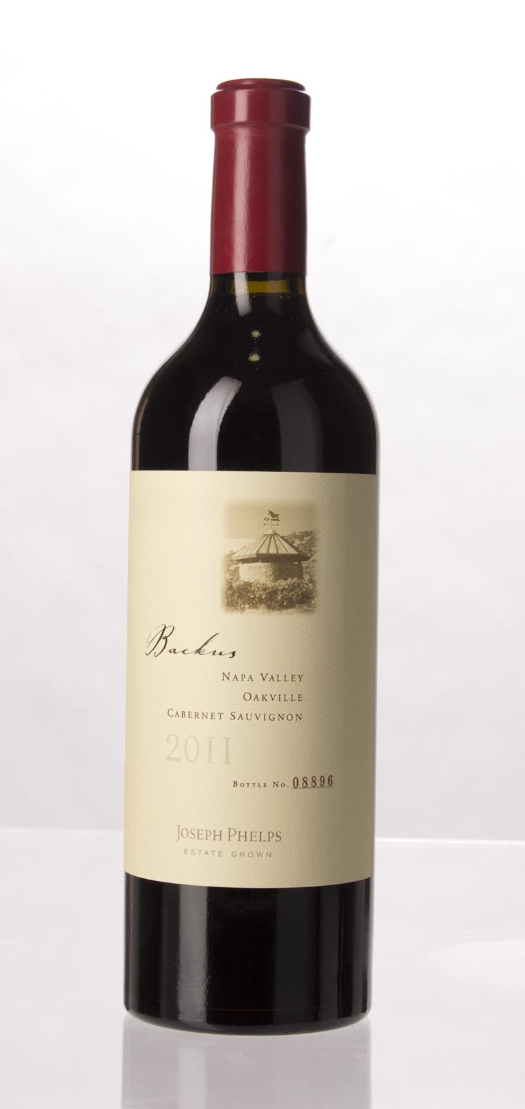 Joseph Phelps Cabernet Sauvignon Backus Vineyard 2011, 750mL (VN95+, ST93) from The BPW - Merchants of rare and fine wines.