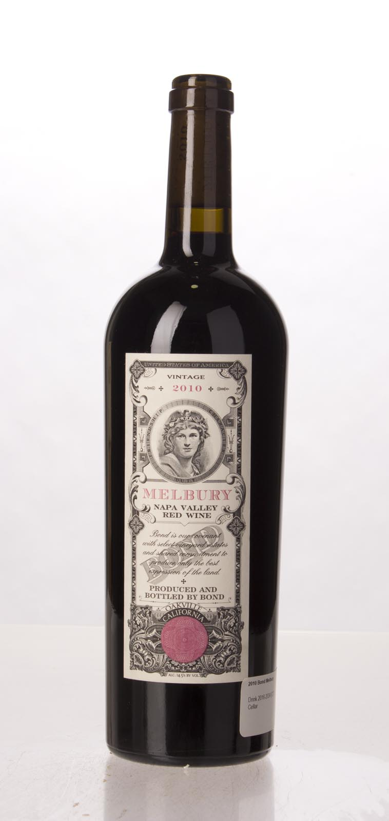 Bond Melbury 2010,  (WA98+, VN97) from The BPW - Merchants of rare and fine wines.