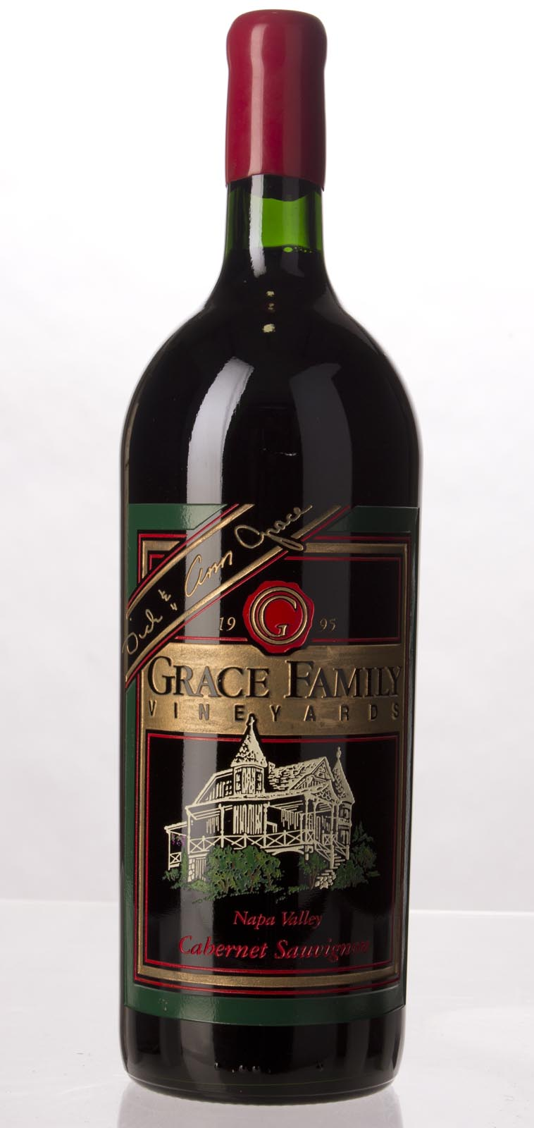 Grace Family Vineyard Cabernet Sauvignon 1995, 1.5L (WA94, WS92) from The BPW - Merchants of rare and fine wines.
