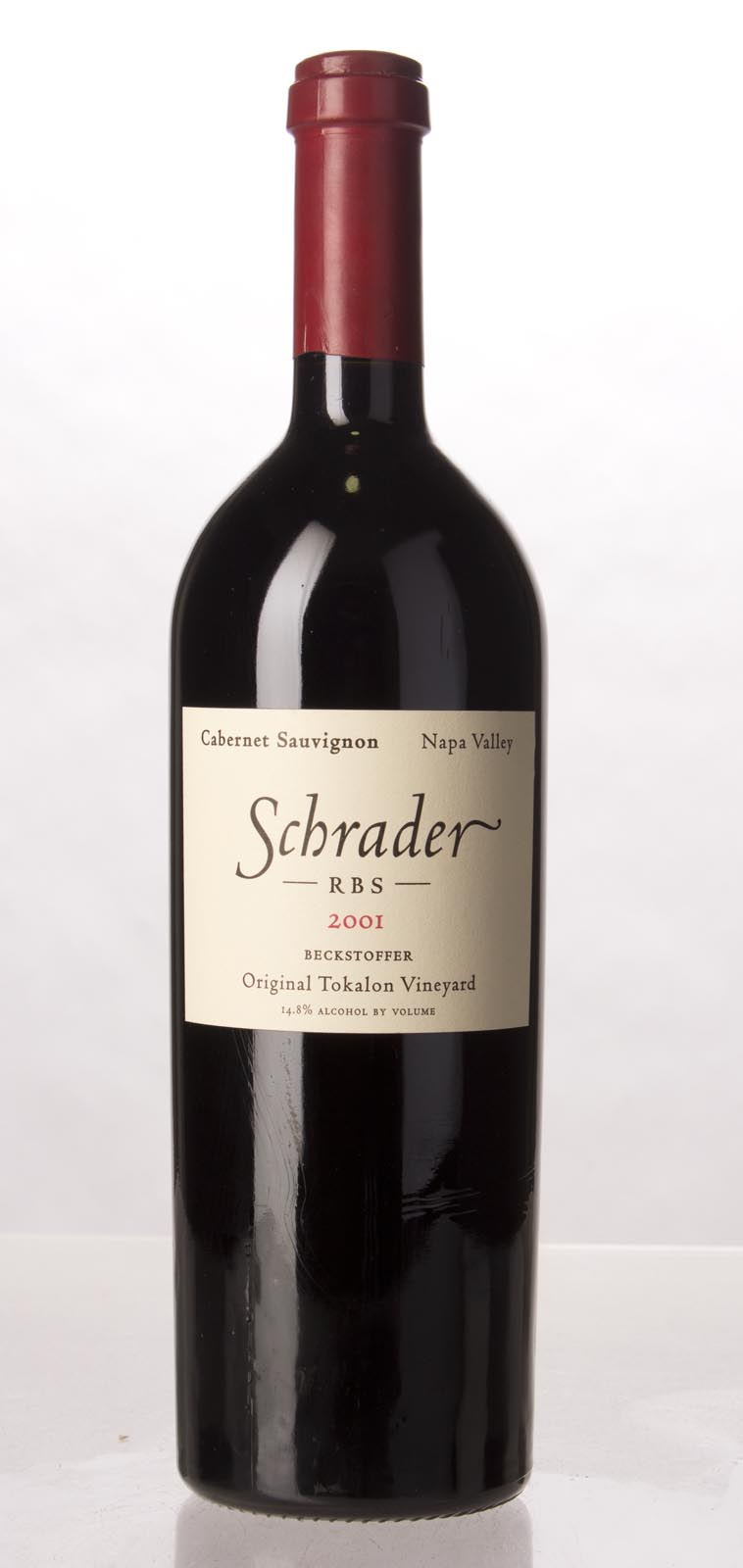 Schrader Cellars Cabernet Sauvignon Beckstoffer To Kalon Vineyard RBS 2001,  (WA96+) from The BPW - Merchants of rare and fine wines.