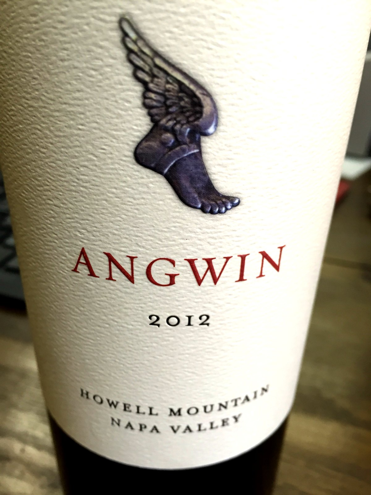 Angwin Estate Cabernet Sauvignon Howell Mountain 2012,  () from The BPW - Merchants of rare and fine wines.