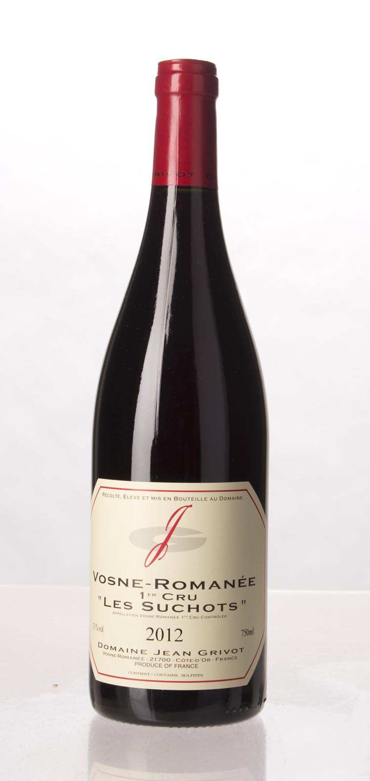 Domaine Jean Grivot Vosne Romanee les Suchots 2012, 750mL (AG93-95, ST93-95) from The BPW - Merchants of rare and fine wines.