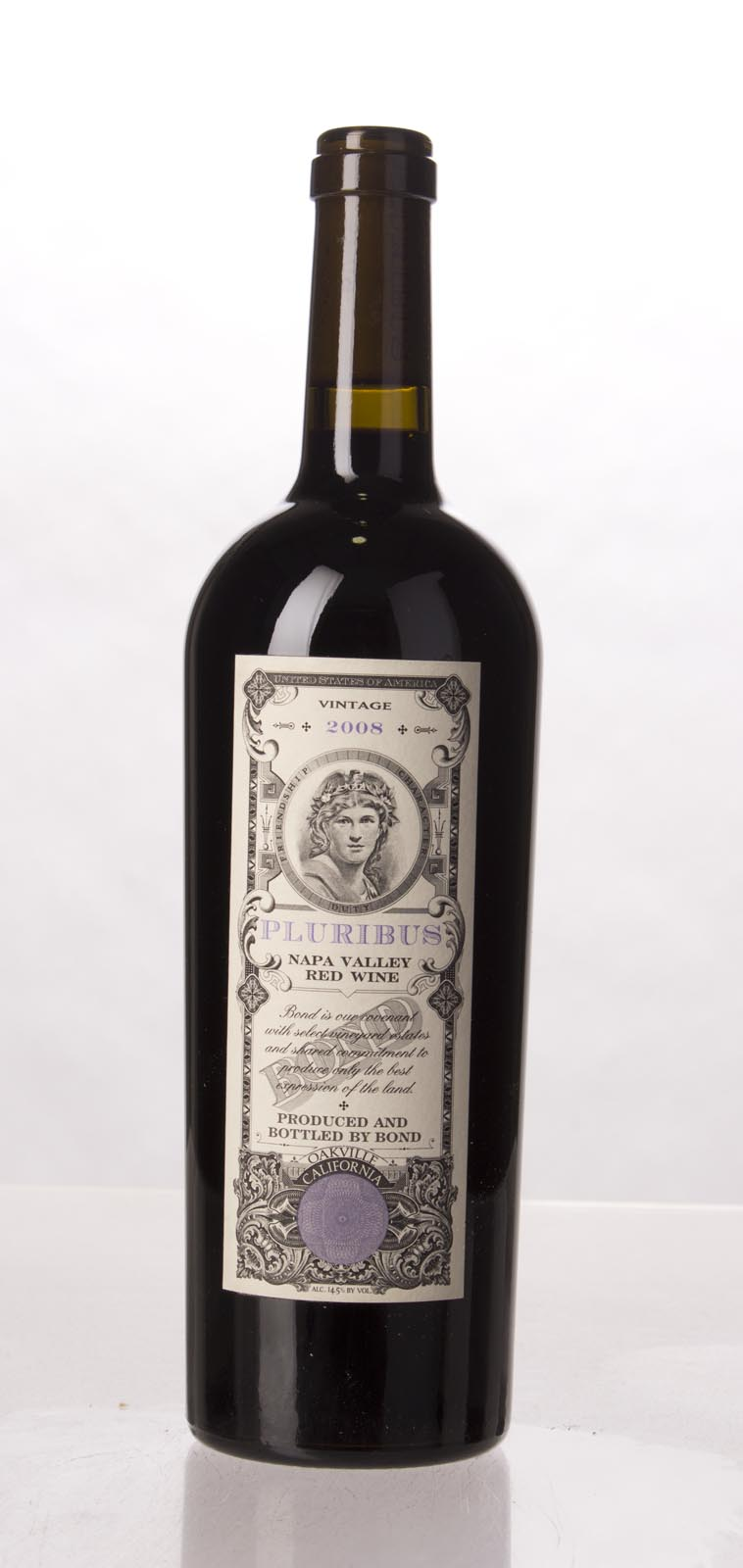 Bond Pluribus 2008, 750mL (WA95, ST94+, WS93) from The BPW - Merchants of rare and fine wines.