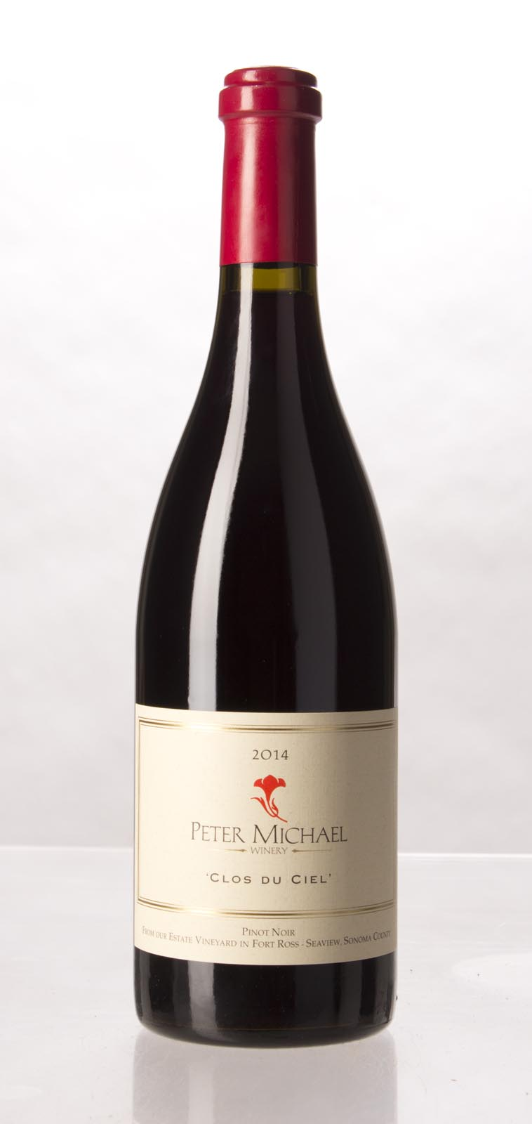 Peter Michael Winery Pinot Noir Clos du Ciel 2014, 750mL (WA94) from The BPW - Merchants of rare and fine wines.