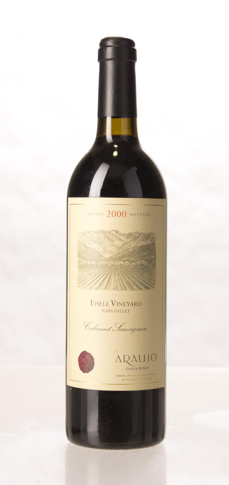 Araujo Estate Cabernet Sauvignon Eisele Vineyard 2000, 750mL (WA91, ST92, WS92) from The BPW - Merchants of rare and fine wines.