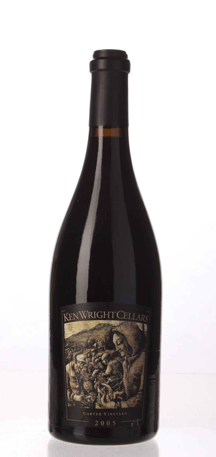 Ken Wright Cellars Pinot Noir Carter Vineyard 2005, 750mL (WA93) from The BPW - Merchants of rare and fine wines.