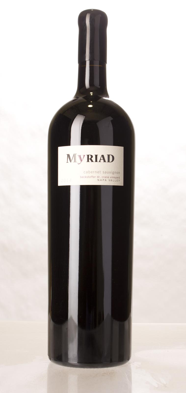 Myriad Cellars Cabernet Sauvignon Beckstoffer Dr. Crane Vineyard 2014, 3L (WA95, VN93) from The BPW - Merchants of rare and fine wines.