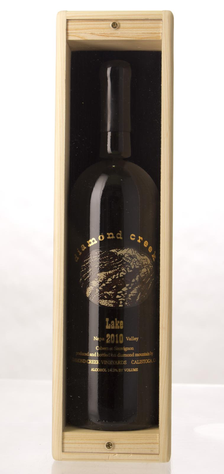 Diamond Creek Cabernet Sauvignon Lake 2010, 750mL () from The BPW - Merchants of rare and fine wines.