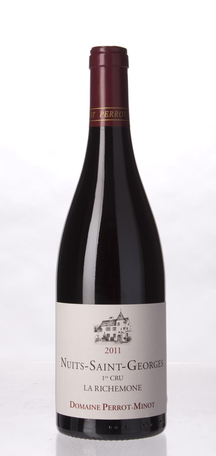Domaine Perrot Minot Nuits St. Georges la Richemone Vieilles Vignes 2011, 750mL (BH90-93) from The BPW - Merchants of rare and fine wines.