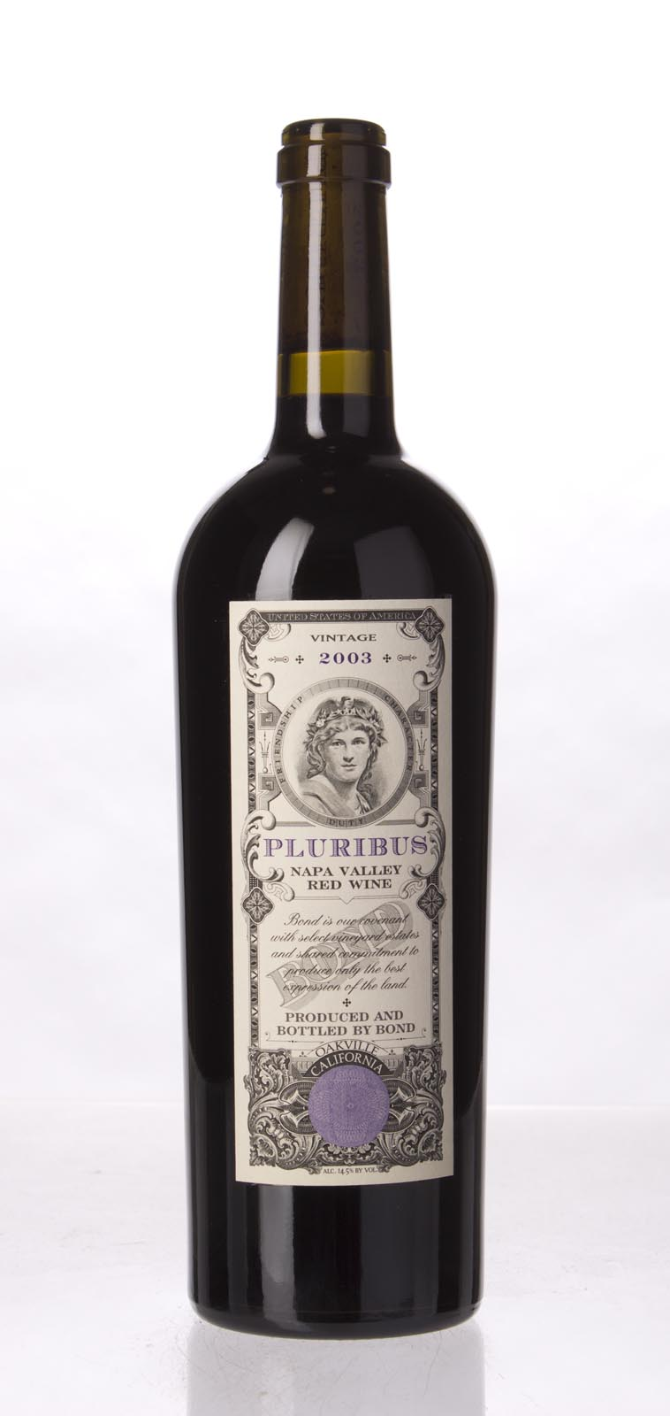 Bond Pluribus 2003, 750mL (WA98) from The BPW - Merchants of rare and fine wines.