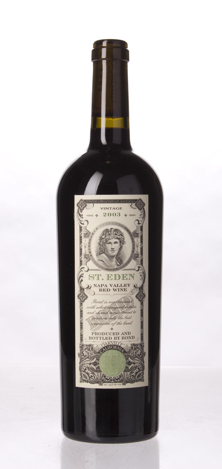 Bond St. Eden 2003, 750mL (WA94, ST93+) from The BPW - Merchants of rare and fine wines.
