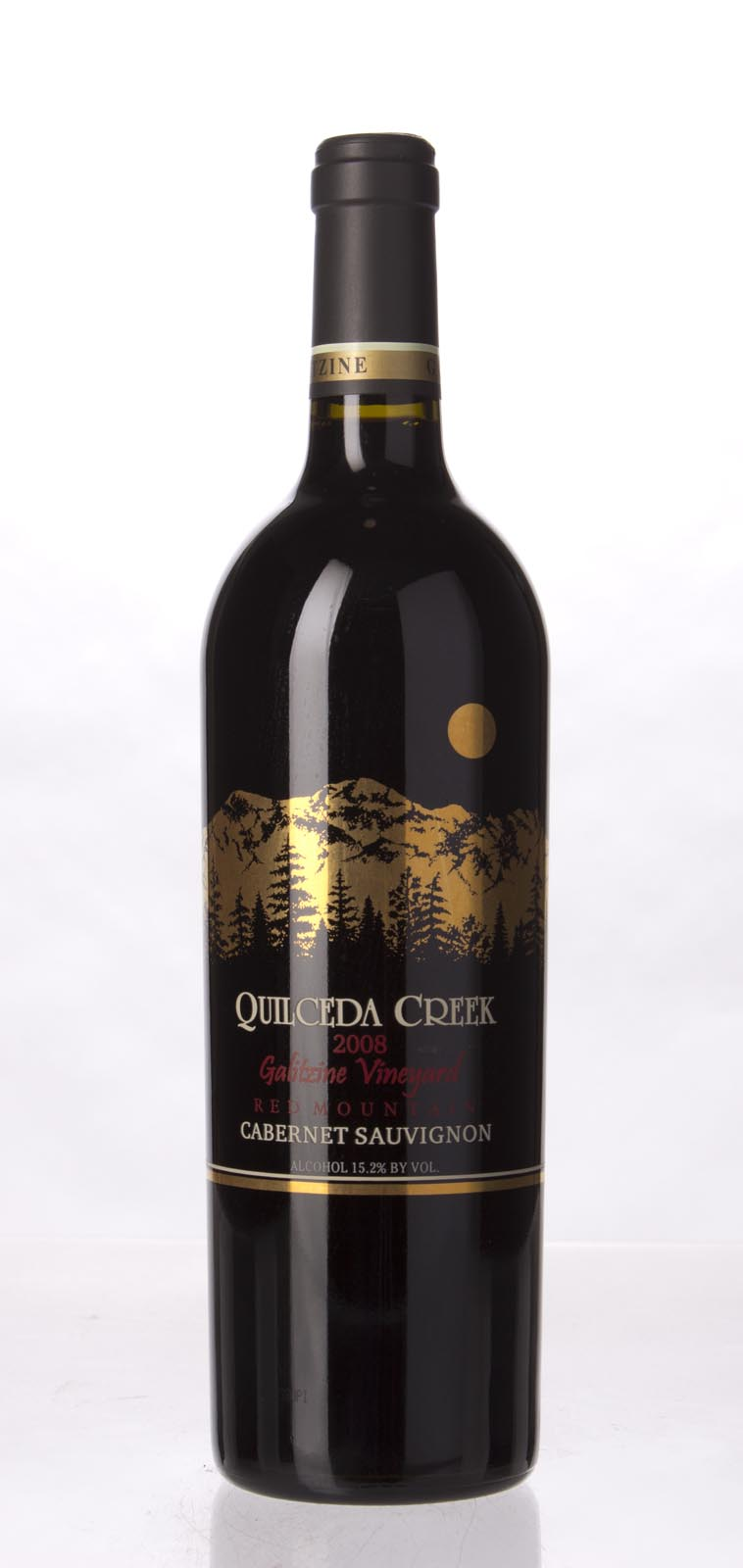 Quilceda Creek Cabernet Sauvignon Galitzine Vineyard 2008, 750mL (WA98) from The BPW - Merchants of rare and fine wines.